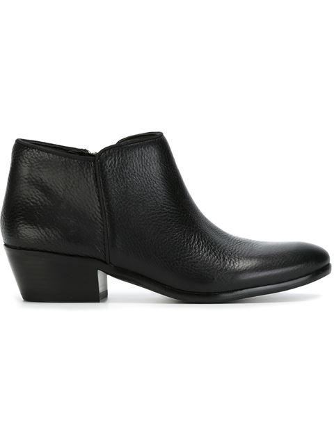 Sam Edelman Petty Leather Ankle Bootie, Black