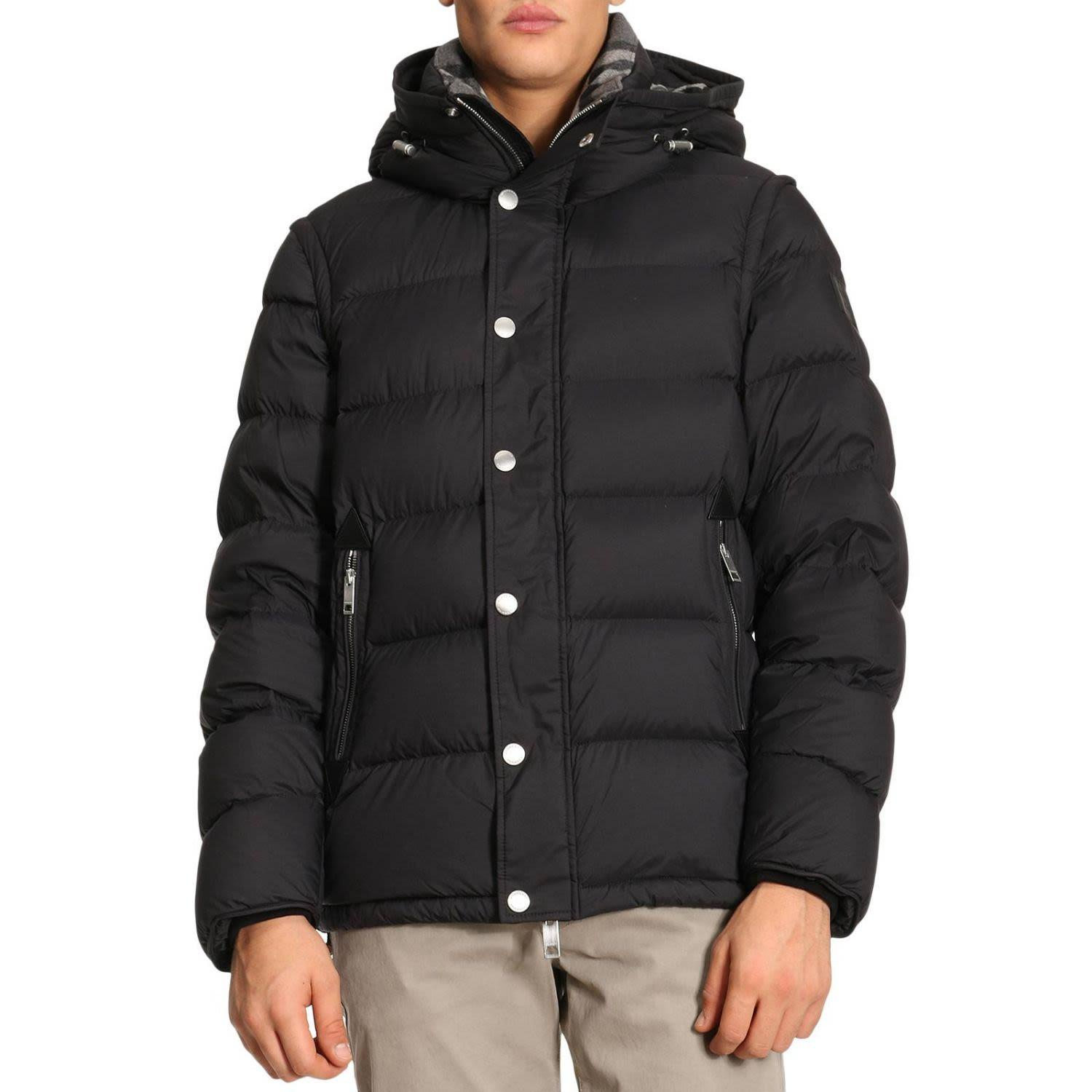 d6a174f9f75e Burberry Hartley Two-In-One Puffer Jacket In Black