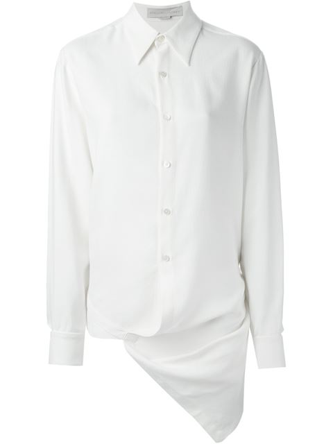 Stella Mccartney Asymmetric Shirt