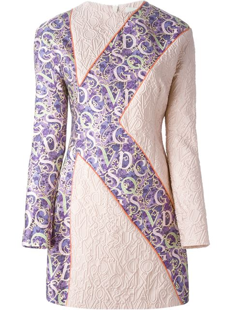 Mary Katrantzou Short Dress In Light Pink