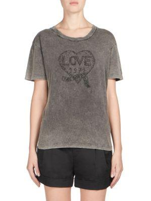 c20a5267ed Distressed Love Graphic Tee