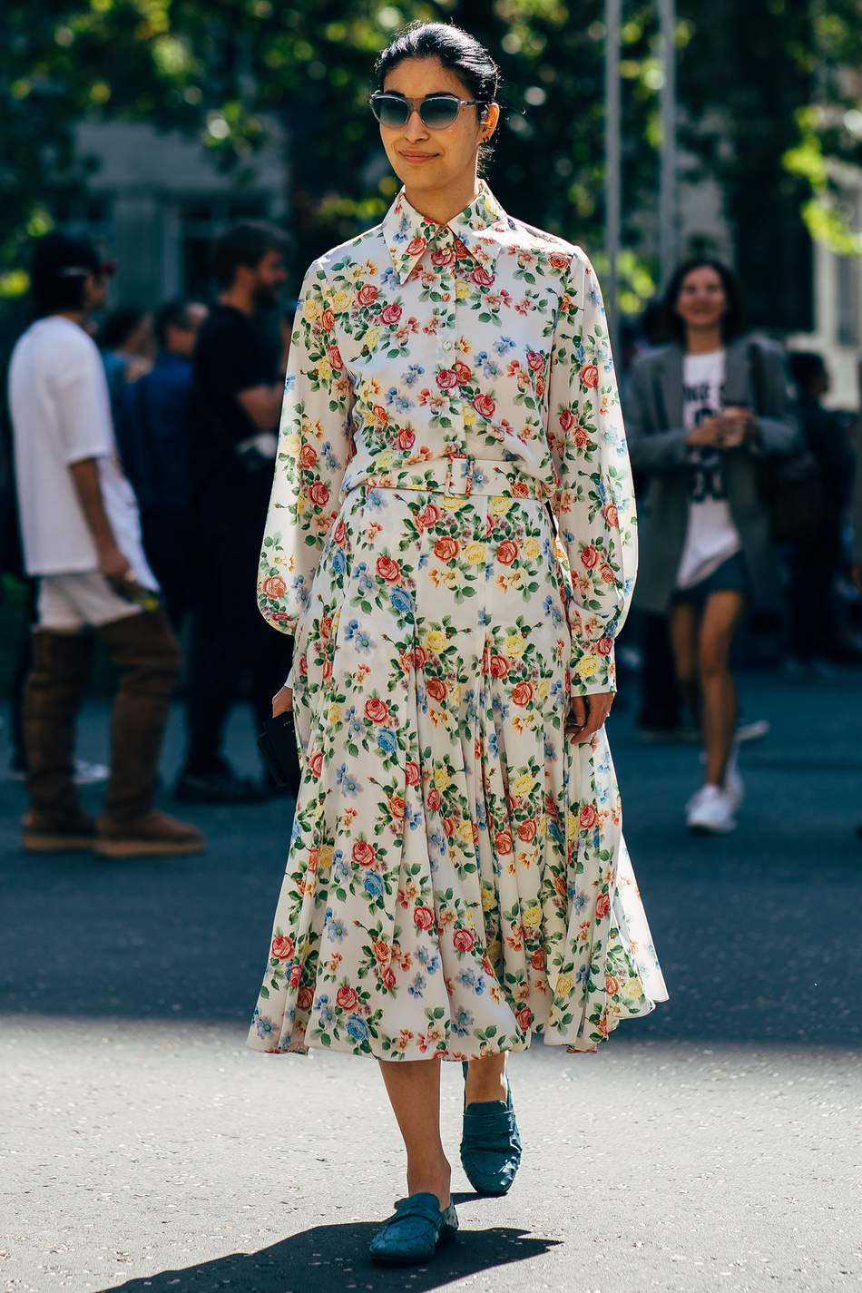 ModeSens 人人都爱茶会连衣裙 Fashion Celebrity Trending Style