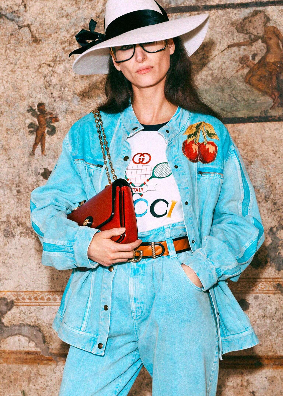 ModeSens Gucci Tennis标志 Fashion Celebrity Trending Style