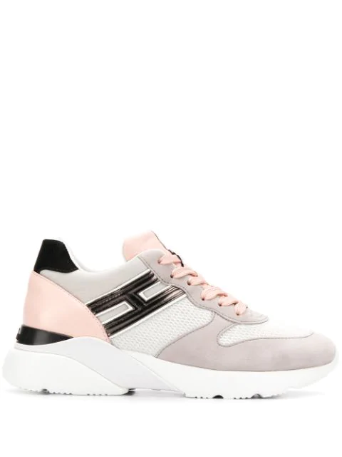 Hogan Sneakers Active One 385 Sneakers In Multicolor Suede And ...