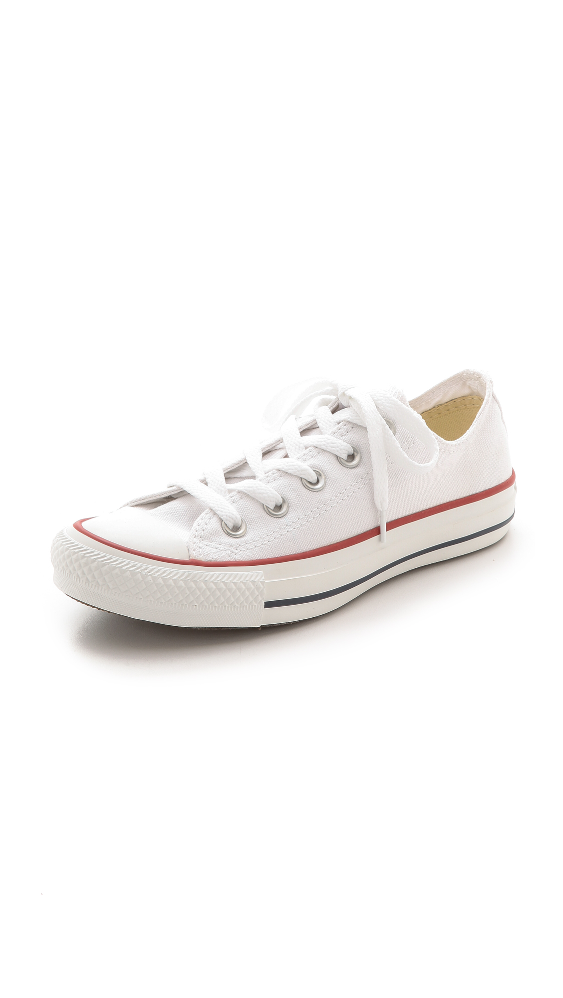 e1a9cf225a8 ... All Star Ox Casual Sneakers From Finish Line In Optical White. CONVERSE