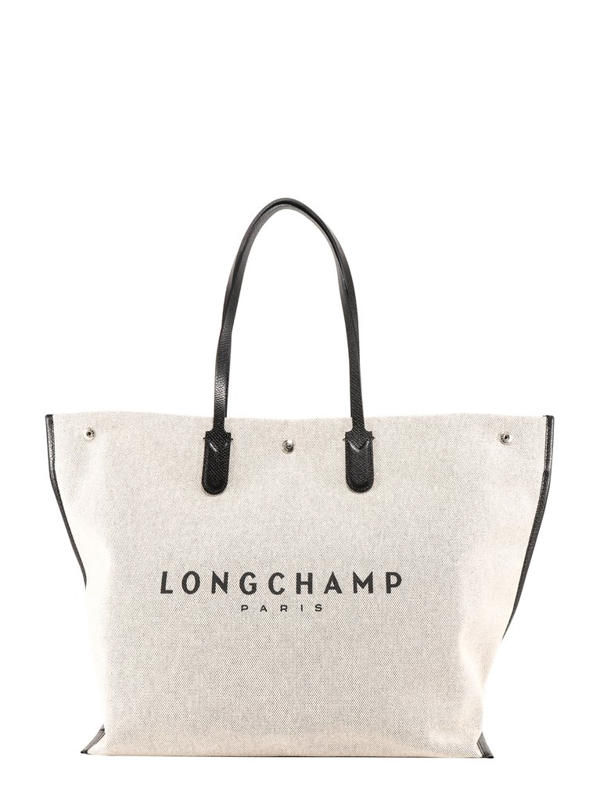Longchamp Roseau Xl Shopping Bag In Beige