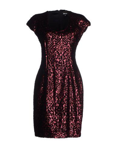 Just Cavalli Short Dresses In Garnet