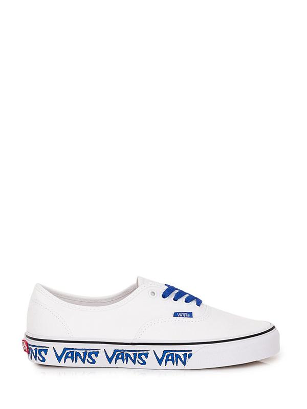 Vans Sketch Sidewall Authentic Sneakers In White