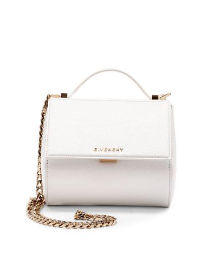 1bb4ec8de4f Givenchy Pandora Box Mini Crossbody Bag, White In 130 Off-Whi   ModeSens