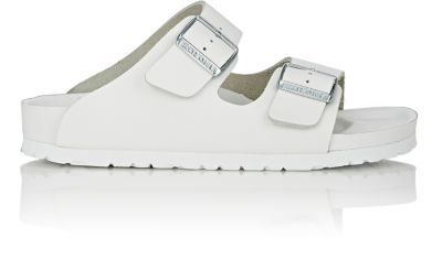 4585008d08f6 Birkenstock Monterey Exquisite Leather Slides In White