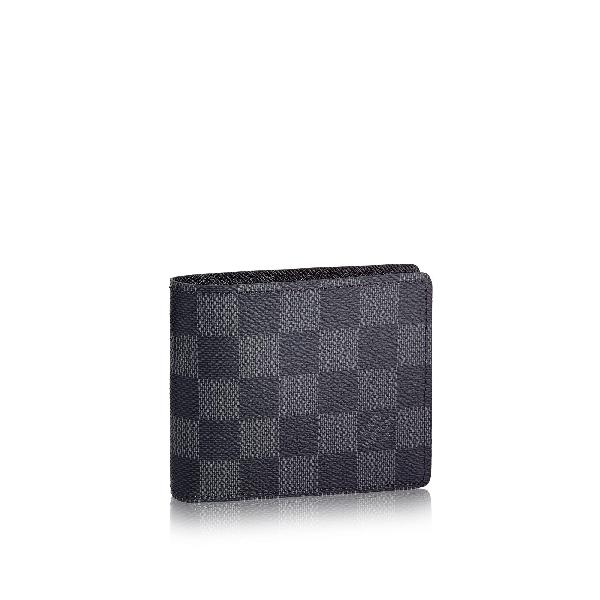 36ed885611ce Louis Vuitton Slender Id Wallet In Graphite