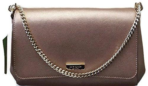 8637b03649a3 Kate Spade Newbury Lane Greer Chain Crossbody Bag Clutch In Rose