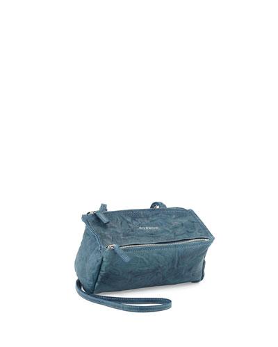 7337f2779ef Givenchy Pandora Mini Pepe Crossbody Bag, Mineral Blue   ModeSens