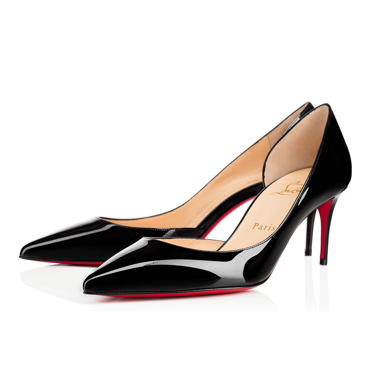 d36447482cf4 Christian Louboutin Iriza 70 Patent Leather D Orsay Pumps In Black ...