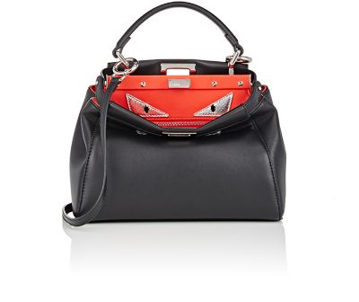 Fendi Peekaboo Mini Monster Eyes Satchel Bag 0bca7122c9aa8