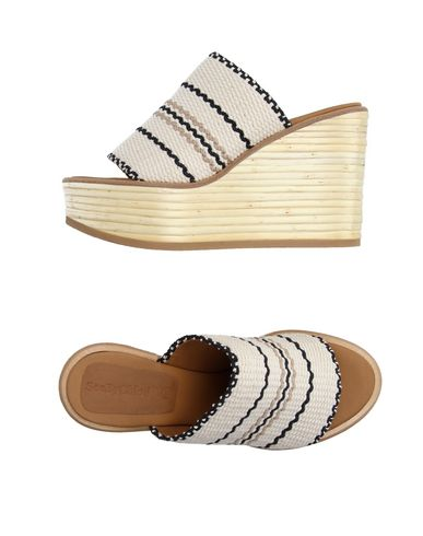 See By ChloÉ Sandals In Ivory