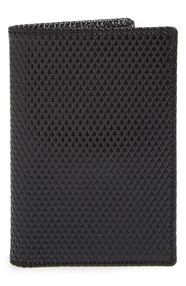 Comme Des GarÇons 'luxury Group' Card Case In Black