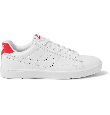 huge selection of cfb99 a09b1 Nike Tennis Classic Ultra Leather Sneakers In Ivory Ivory University Red