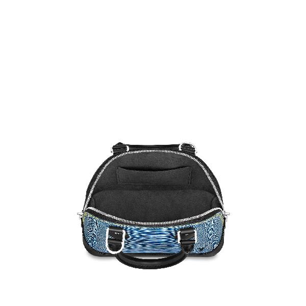 13eee64c8c30 Louis Vuitton Nano Alma In Epi Leather Denim