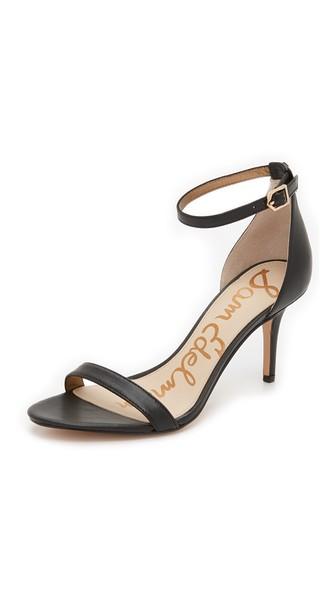 b2e49232d49b Sam Edelman Patti Leather Ankle-Strap Sandal In Black
