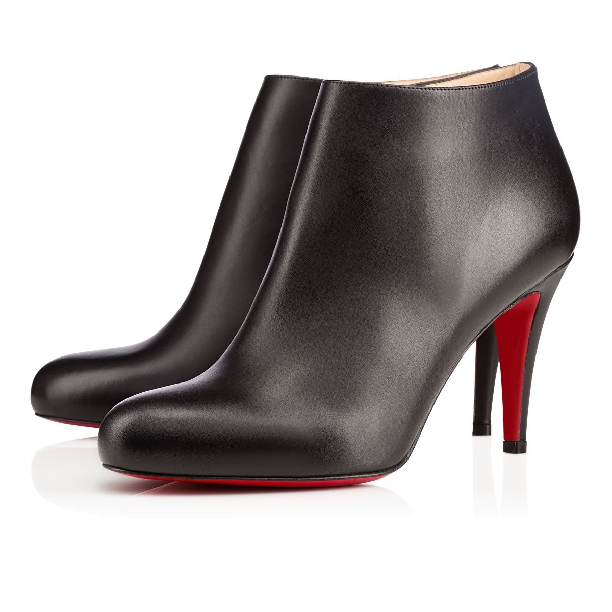 c41e99564475 Christian Louboutin Belle Leather Red-Sole Ankle Boots