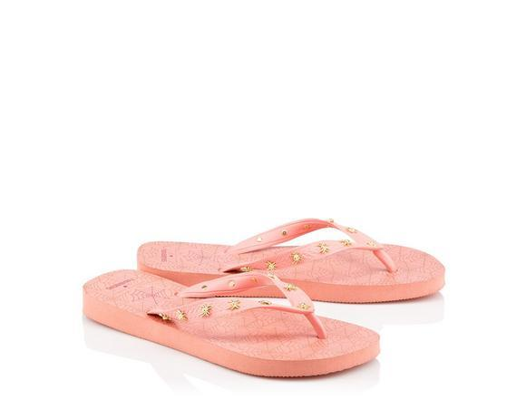 b4f3e58a7220 Charlotte Olympia Charlotte s Web Havaianas Light Rose Rubber Flip Flop In  Pink