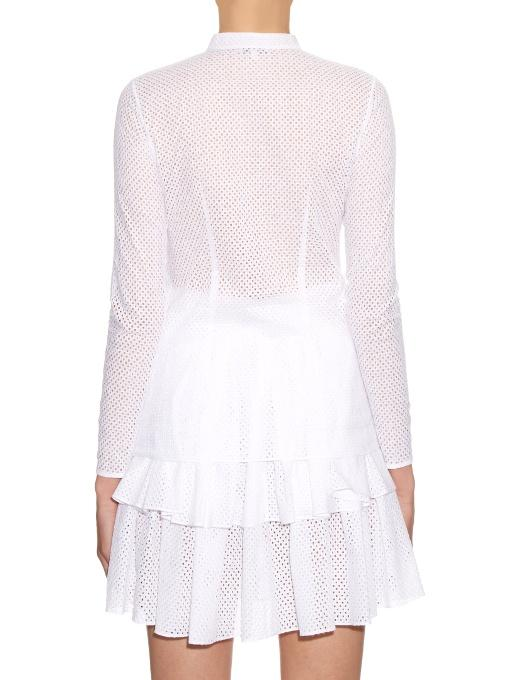 SOPHIE THEALLET Anais stand-collar shirt