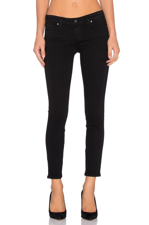 012be7e3c5e6c Paige Denim Verdugo Skinny Maternity Jeans In Black Shadow | ModeSens