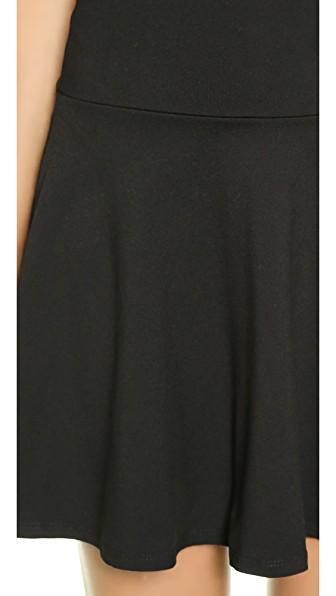6db123d40c Susana Monaco High Waisted Flare Skirt In Black   ModeSens