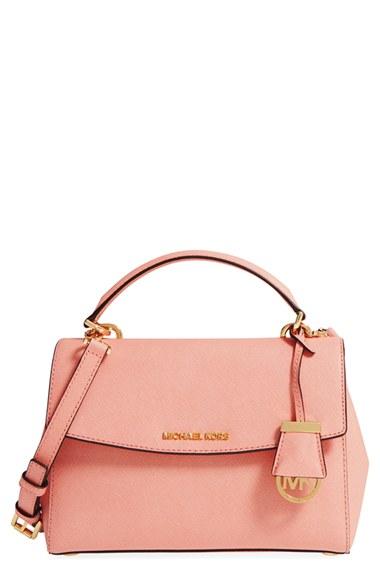 ee939ba95fd65 Michael Michael Kors Ava Extra-Small Saffiano Leather Satchel Bag ...