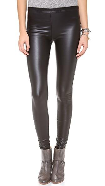 ec99a3629bab9 Plush Fleece Lined Liquid Leggings In Black | ModeSens