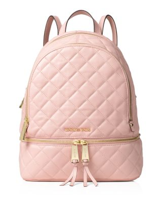 Michael Michael Kors Small Rhea Zip Messenger Backpack In Blossom ... 5500af33cf