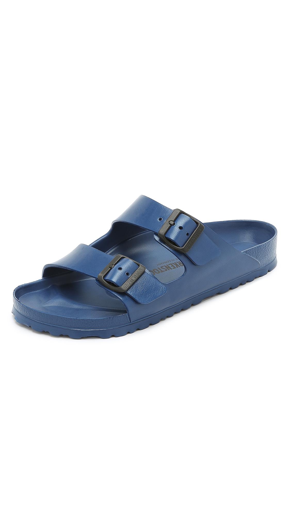 cc84f9e7fb Birkenstock  Essentials - Arizona Eva  Waterproof Slide Sandal (Men) ...