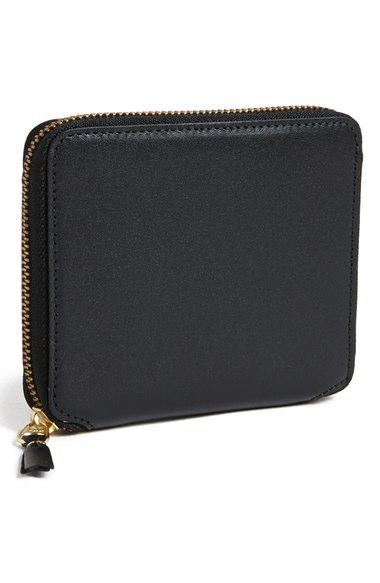 Comme Des GarÇons 'classic' French Wallet In Black