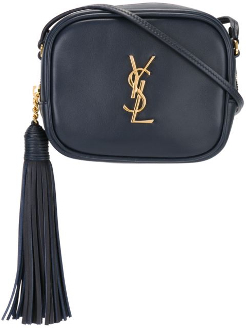 befee8d2ba00 Saint Laurent  Monogram Blogger  Crossbody Bag - Blue