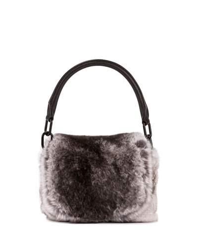 Alexander Wang Rex Rabbit Fur Mini Satchel Bag dbc331839dcd2