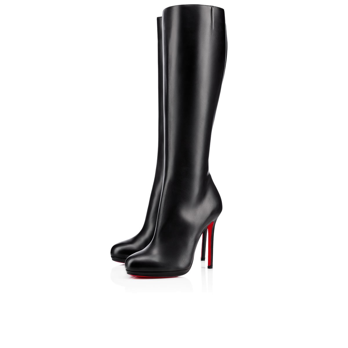 186c5335217 Christian Louboutin Botalili Tall Red Sole Boot In Black | ModeSens