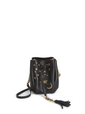 bdca49cc6fc4 Saint Laurent Monogram Small Star Studded Bucket Bag