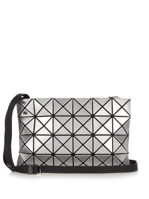 a4fe5e3218 Bao Bao Issey Miyake Lucent Basic Cross-Body Bag In Metallic-Silver ...