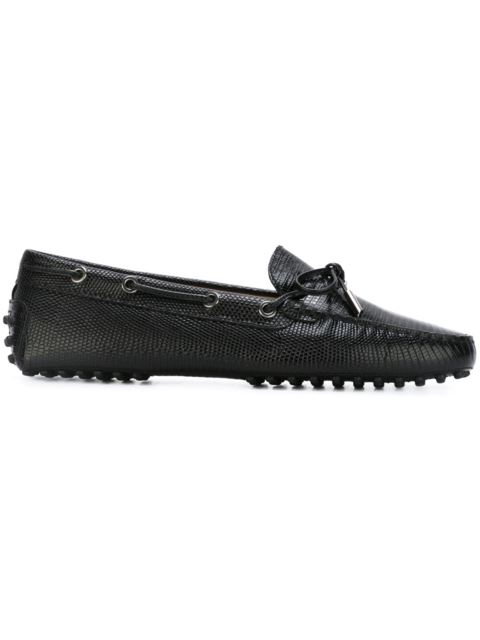 Tod's Gommino Heaven Driving Shoes In Black