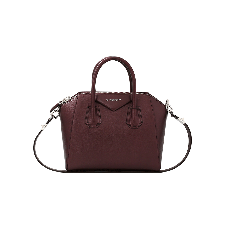 b12318249c6d5 Givenchy Antigona Small Sugar Goatskin Satchel Bag, Oxblood In Red ...