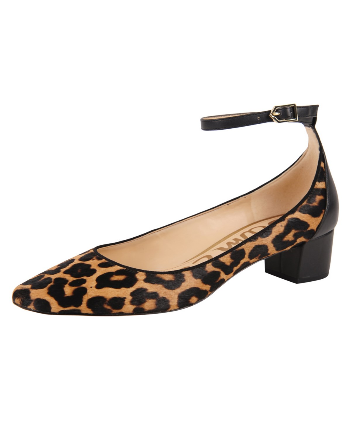 6b1c88aea Sam Edelman Lola Leather-Trimmed Leopard-Print Calf Hair Pumps In Leopard  Brahma