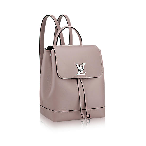 a9ce6cda3d59 Louis Vuitton Lockme Backpack In Mastic