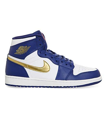 6632c677c189 Nike  Air Jordan 1 Retro  High Top Sneaker (Men) In Royal Bronze ...