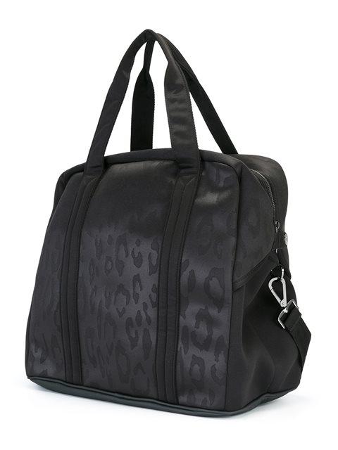 Adidas By Stella Mccartney Essential Big Gym Bag In Black Silver ... ca2c3944ef