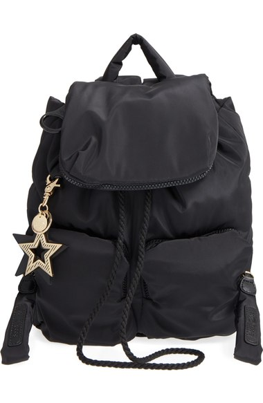 See By ChloÉ Joy Rider Black Nylon Backpack In New Black  81b206fb4d08f