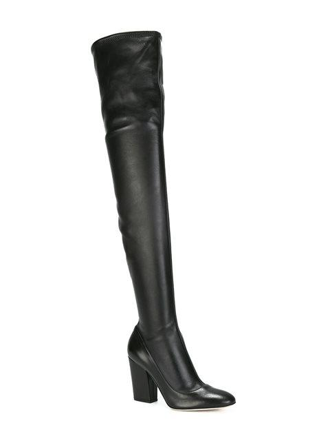 SERGIO ROSSI THIGH HIGH BOOTS,A75290MAF71511607313