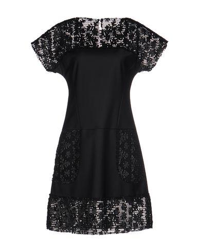 Karl Lagerfeld Short Dresses In Black Modesens