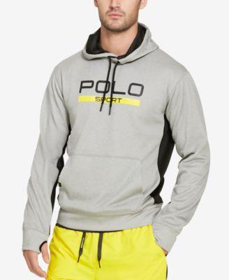 Polo Ralph Lauren Polo Sport Men  039 S Fleece Graphic Hoodie In Andver  Heather d02167c5f658