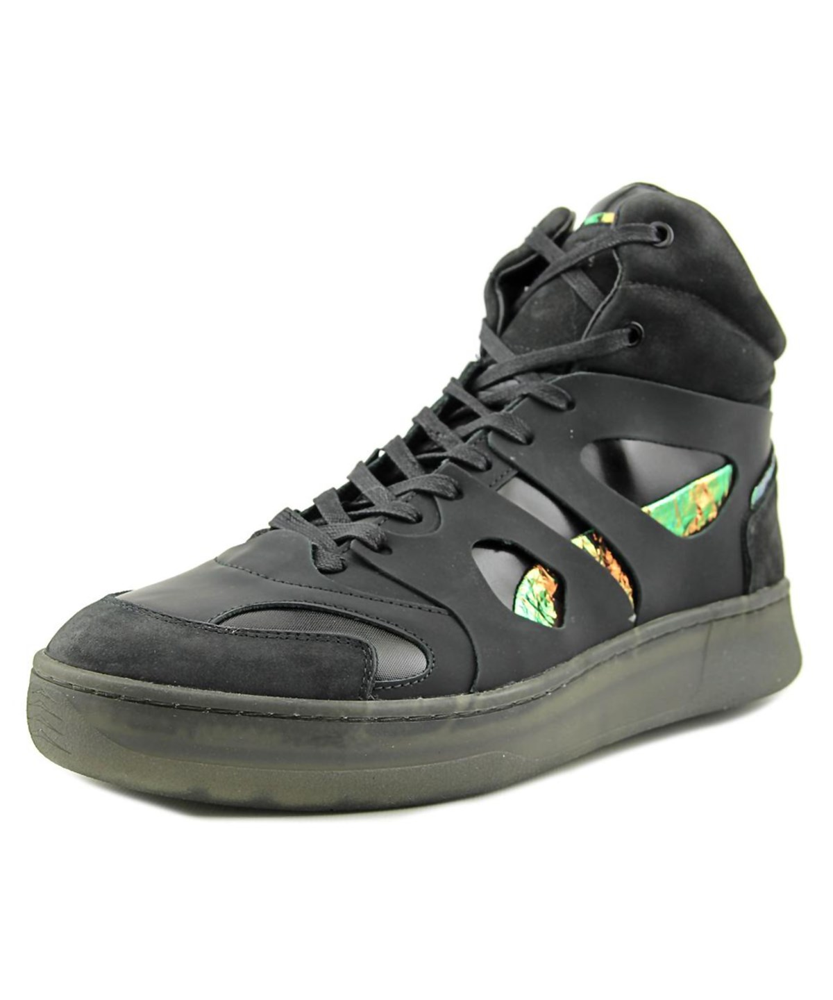 c0d62599121 Puma Alexander Mcqueen By Mcq Move Mid Men Leather Black Basketball Shoe